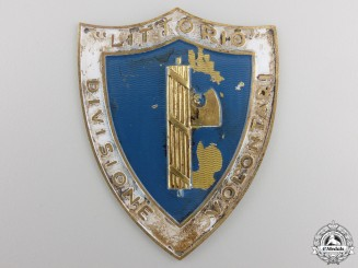 An Second War Italian Fascist Sleeve Shield