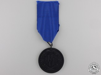 An SS-Four Years Service Medal by Petz and Lorenz