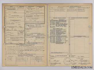 An SS Service Report for the 6th North Division