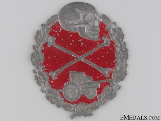 Anti-Tank Sleeve Badge, Blue Division