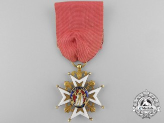 An Order of Saint Louis; Knight of the Second Restoration Period (1819-1830)