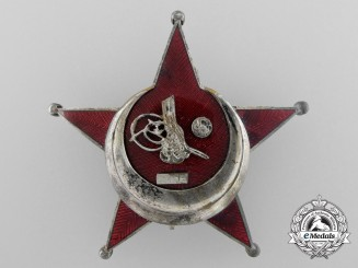 A German Made Turkish 1915 Campaign Star (Iron Crescent)