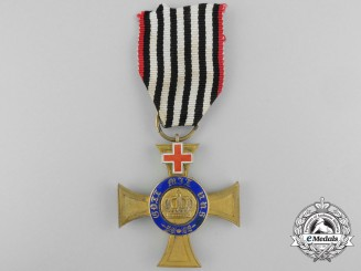 A Fourth Class Prussian Crown Order with 1872-74 Geneva Cross