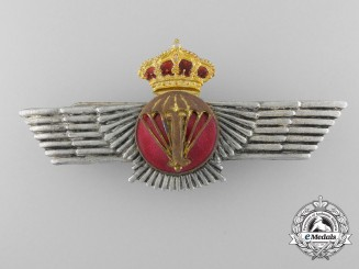 A Spanish Air Force Parachute Instructor's Wings
