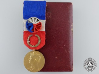 A French Medal of Honour for Labour of the Ministry of Labour and Social Security