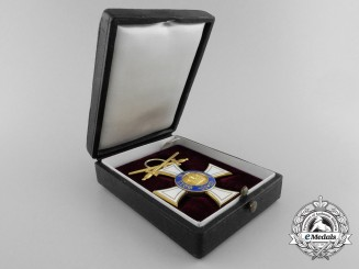 """A Rare Prussian Order of the Crown; Third Class with Swords """"am Ring"""""""