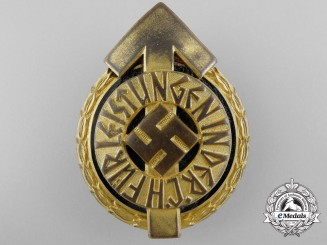 An HJ Leader Sports Badge by Gustav Brehmer