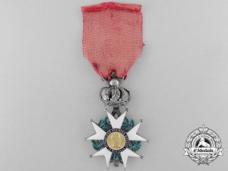 "A French Legion D'Honneur with Gold Centre; Model ""La Presidence"" 1851"