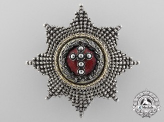 A Danish Order of the Elephant Attributed to King Carl XV of Sweden