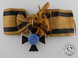 A Prussian Order of Louise in Gold; Acquired from the Estate of Grand Duke of Baden
