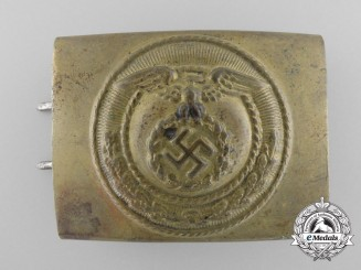 An SA Belt Buckle for Enlisted Men and NCOs