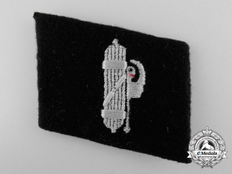 A Collar Tab of the 29th. Waffen-SS Grenadier Division (Italienische Nr. 1)