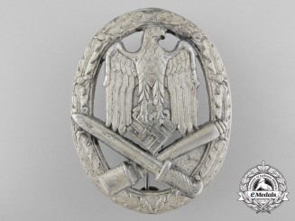 A General Assault Badge; Defective Manufacturing