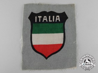 A Sleeve Shield for Volunteers of the 29th Waffen-Gren.Division of SS (Italian # 1)