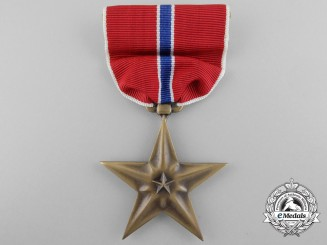 A Mint American Bronze Star with Box
