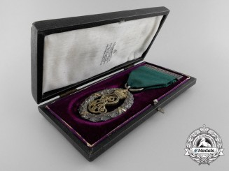 A Edward VII Territorial Decoration with Case