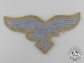 A Mint Afrikakorps/Tropical  EM/NCo's Breast Eagle for a Four Pocket Tunic