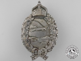 A German Imperial Pilot Badge Sent as 1916 Christmas Gift