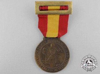 A Spanish Province of Vizcaya Victory Medal 1936-1939