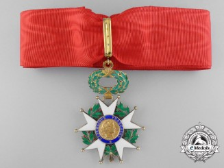 A French Legion D'Honneur; Third Class Commander
