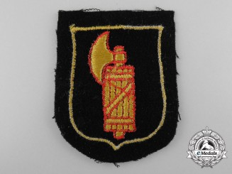"""A Sleeve Shield for Waffen-SS Division """"Italia"""""""