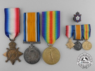 A First War Group to Major Biggar; 2nd Canadian Infantry