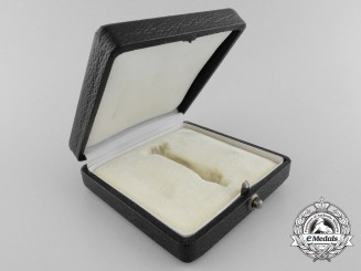 A Case for 1939 1st Class Iron Cross; Marked