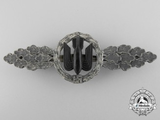 A Squadron Clasp for Bomber Pilots; Silver Grade