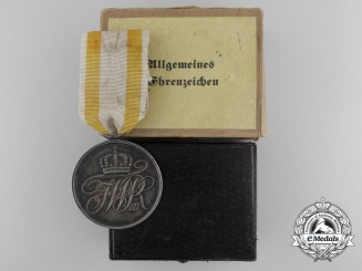 A Imperial General Service Medal with Case & Carton