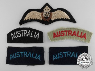 A Selection of Royal Australian Air Force Insignia