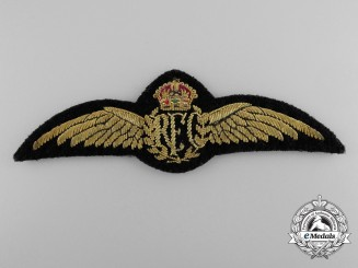 A Royal Flying Corps Officer's Patrol Jacket Wing