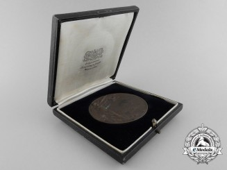 A Royal Air Force Iraq Rifle and Pistol Association Award Medal with Case