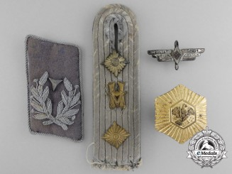 A Lot of Four Second War Period German Badges & Insignia