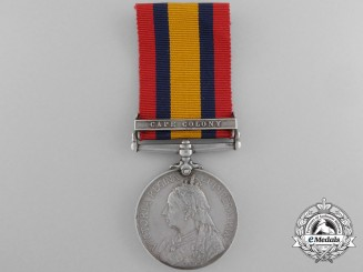A Queen's South Africa Medal 1899-1902 to the Royal Canadian Regiment