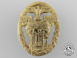 A Scarce German Defense Economy Leader's Badge by Funcke & Bruninghaus