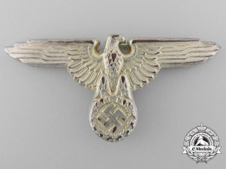 "A Good SS Visor Cap Eagle by ""M1/52 RZM"", in Cupal"