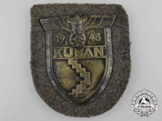 A Army Issue Kuban Campaign Shield