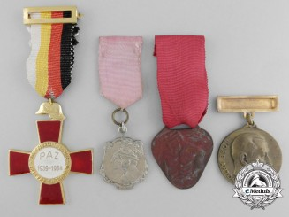Four Spanish Medals, Awards and Decorations