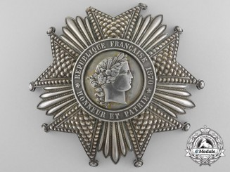 A French Legion D`Honneur; Third Republic 1870-1940 by Quizille Lemoine