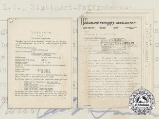 A 1938 Pre-War Letter to Porsche AG on the Development of German Made Auto Components