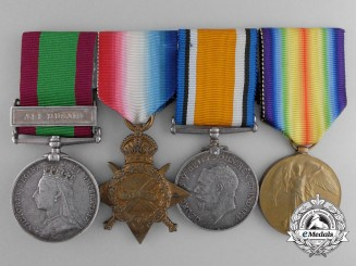 A Afghan & First War Group to the Rifle Brigade & Princess Patricia's Canadian Light Infantry