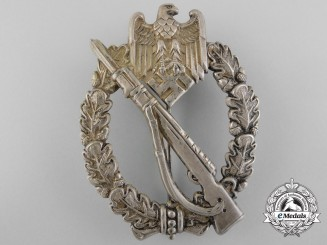 A Silver Grade Infantry Badge in Tombac