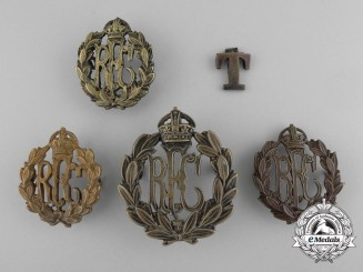 A Lot of First War Royal Flying Corps Insignia