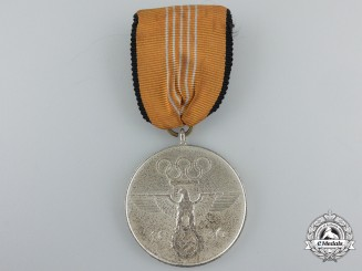 A 1936 Berlin Summer Olympic Games Medal