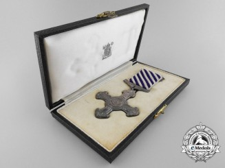A 1940 Battle of Britain Distinguished Flying Cross with Case