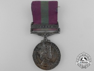 A General Service Medal 1918-1962 to the Royal Air Force for Malaya