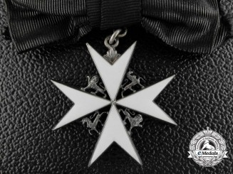 An Order of St. John, Commander; Sister's Badge with Case