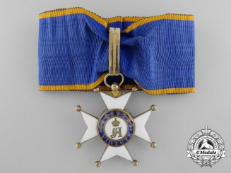 An Order of Adolph of Luxembourg; Commander's Cross