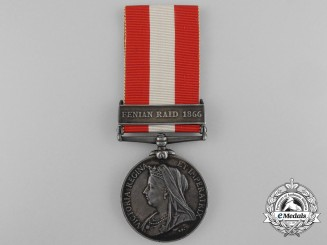 A Canada General Service Medal to the Columbus Rifle Company