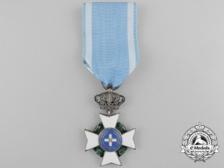 An 1829-1862 Order of the Redeemer; Type I with King Oto Obverse